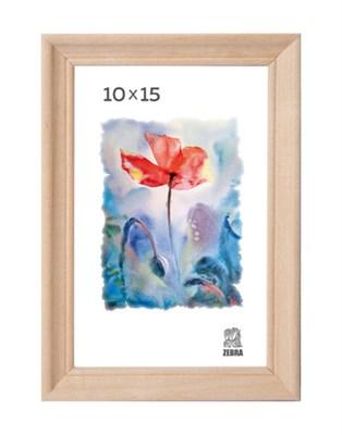 Рамка деревянная 10х15 см цвет натуральный 15 профиль - фото 7314
