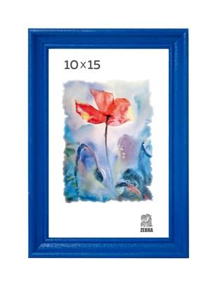 Рамка деревянная 10х15 см цвет синий 15 профиль - фото 7329