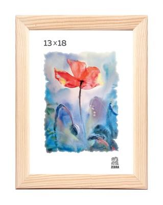 Рамка деревянная 13х18 см цвет натуральный 13 профиль - фото 7367