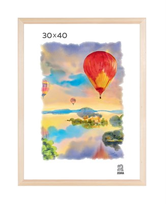 Рамка деревянная 30х40 см цвет натуральный 13 профиль - фото 7373