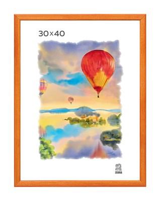 Рамка деревянная 30х40 см цвет лиственница 13 профиль - фото 7404