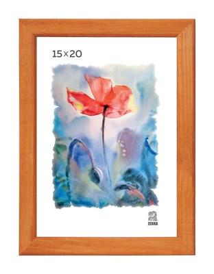Рамка деревянная 15х20 см цвет лиственница 13 профиль - фото 7620