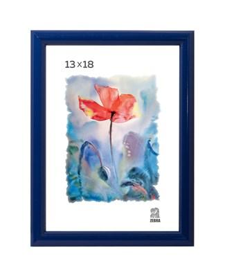 Рамка пластиковая 13х18 см цвет синий 5 профиль - фото 7994