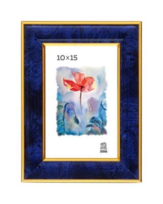 Рамка пластиковая 10х15 см цвет синий 6 профиль - фото 8135