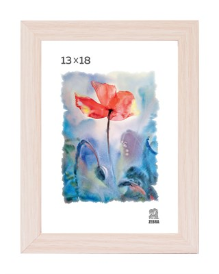 Рамка МДФ 13х18 цвет крем-брюле 1 профиль - фото 8207