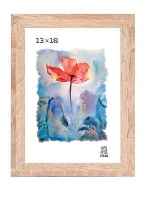 Рамка МДФ 13х18 цвет слоновая кость 1 профиль - фото 8222