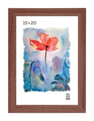 Рамка МДФ 15х20 цвет капучино 1 профиль - фото 8239