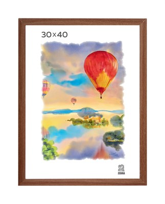 Рамка МДФ 30х40 цвет капучино 1 профиль - фото 8246
