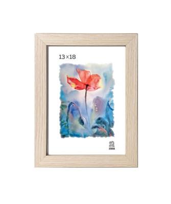 Рамка МДФ 13х18 цвет крем-брюле 2 профиль - фото 8279