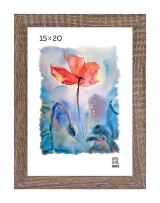 Рамка МДФ 15х20 цвет дуб 2 профиль - фото 8327
