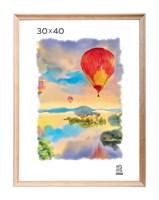 Рамка деревянная 30х40 см цвет натуральный 15 профиль