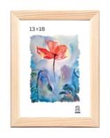 Рамка деревянная 13х18 см цвет натуральный 13 профиль