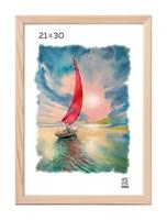 Рамка деревянная 21х30 см цвет натуральный 13 профиль