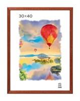 Рамка деревянная 30х40 см цвет орех 13 профиль