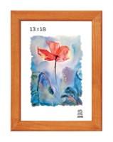 Рамка деревянная 13х18 см цвет лиственница 13 профиль