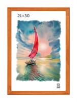 Рамка деревянная 21х30 см цвет лиственница 13 профиль