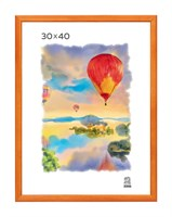 Рамка деревянная 30х40 см цвет лиственница 13 профиль