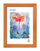 Рамка деревянная 15х20 см цвет лиственница 13 профиль