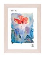 Рамка МДФ 15х20 цвет крем-брюле 1 профиль
